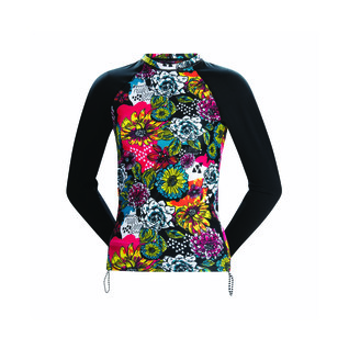 Dolfin Uglies Female Sugar Skull Long Sleeve Rash Guard product image