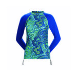 Dolfin Uglies Women's Rash Guard Long Sleeve WAVES FOR DAYS