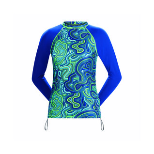 Dolfin Uglies Female Waves for Days Long Sleeve Rash Guard product image