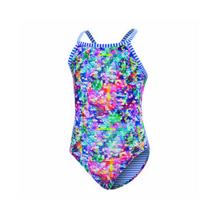 Dolfin Uglies Girls Shimmer Keyhole 1-Piece product image