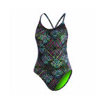 Dolfin Uglies Revibe Star Light Low X-Back One Piece Suit