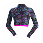 Dolfin Uglies Rash Guard REVIBE STAR LIGHT Mock Neck
