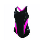 Dolfin Aquashape Swimsuit SPORTY CROSSOVER COLOR BLOCK