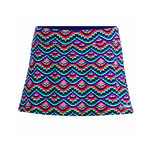 Dolfin Aquashape Swim Skirt Feathers A-line