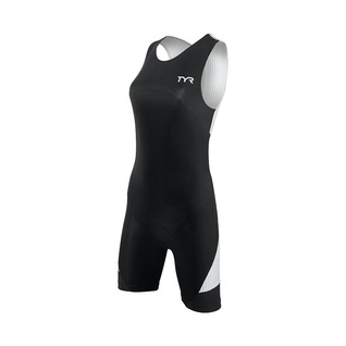Tyr Tri Carbon Zipper Back Short John w/Pad Female product image