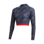 Dolfin Uglies Revibe Festival Cropped Rash Guard