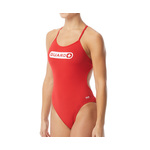 Tyr Women's Lifeguard Crosscutfit Tieback One Piece Swimsuit