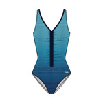 Tyr Fishnet V-Neck Zip Controlfit Swimsuit