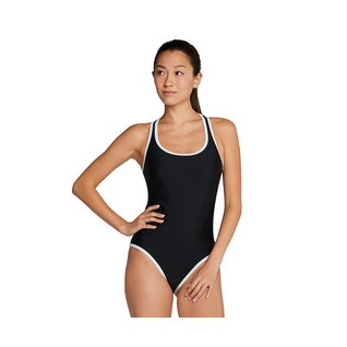 Speedo Polyester Contrast Binding One Piece Female product image