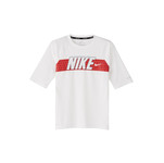 NIKE Boys' Swim Top Americana Short Sleeve Hydroguard