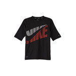 NIKE Boys' Swim Shirt Tilt Short Sleeve Hydroguard