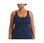 Nike Plus Size Essentials Scoop Neck Tankini Top