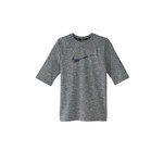 Nike Boys' Heather Short Sleeve Hydroguard Swim Shirt