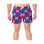 Dolfin Men's Classic Dolfin Print Swim Trunks