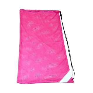 Mesh equipment bag to put your swim gear