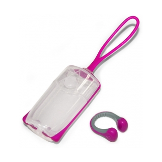 Aqua Sphere Silicone Nose Clip w/Carrying Case product image