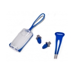 Aqua Sphere Silicone Ear Plugs w/Carrying Case and Lanyard