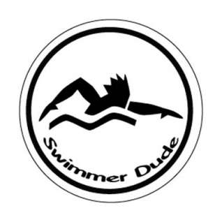 BaySix Swimmer Dude Round Decal product image