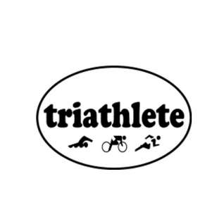 Triathlete Decal product image