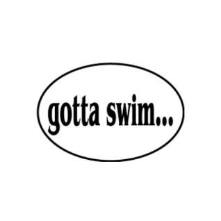 BaySix Gotta Swim Decal product image