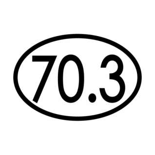 Bay Six 70.3 Oval Decal product image