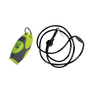 Fox 40 Sharx Safety Whistle with Black Lanyard product image
