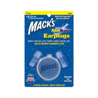 Macks Aqua Block Ear Plugs 1 Pair product image