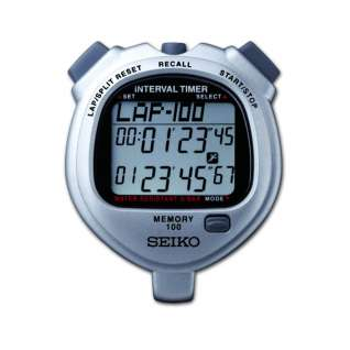 Seiko 100 Lap Memory Dual Timer Stopwatch product image