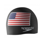 American Flag Swim Cap