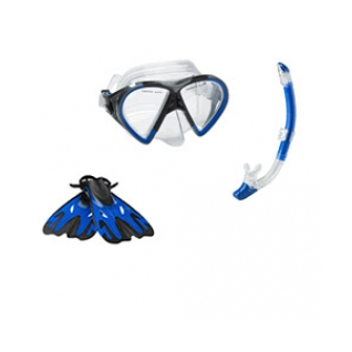 Speedo Hyperfluid Mask/Snorkel/Fins Set product image