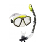 Speedo Hydroflight Swim Mask/Dry Top Snorkel Set
