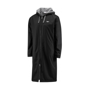 Tyr swim parka in color black