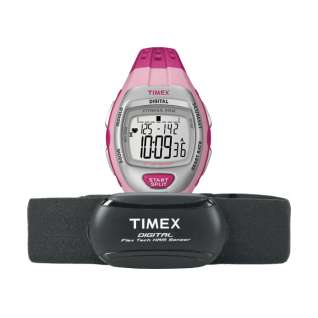 Timex Zone Trainer Digital Flex Tech Heart Rate Monitor product image
