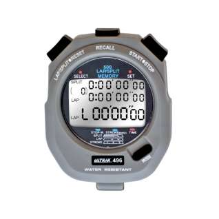 Ultrak 500 Lap Memory Stopwatch product image