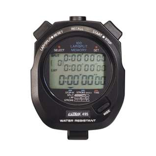 Ultrak 100 Lap Memory Stopwatch product image