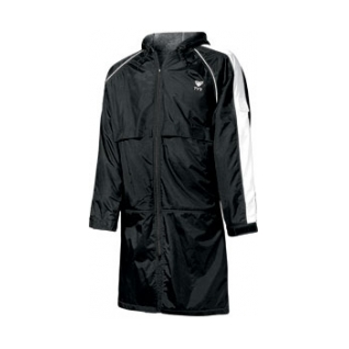 Large picture of a Tyr Swim Parka in color Black