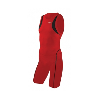 Tyr Carbon Zipperback Short John Male product image