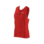 Tyr Carbon Triathlon Tank w/Zipper Male