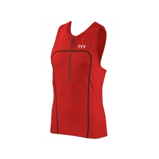 Tyr Carbon Triathlon Tank w/Zipper Male product image