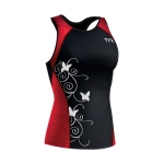 Tyr Competitor Fitted Tankini Print Female