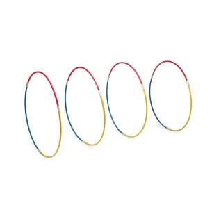 Water Gear Dolphin Slalom Set - 4 Sinking Hoops product image