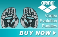 Arena Vortex Evolution Hand Paddles