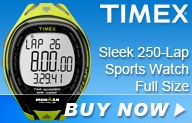 Timex Sleek 250-Lap Sport Watch Full Size