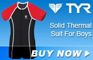 Tyr Solid Thermal Suit Boys