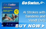 Go Swim All Strokes with Sandeno and Vendt DVD