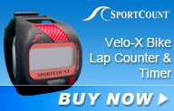SportCount VeloX Bike Lap Counter and Timer