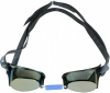 Water Gear Metallic Swedish Pro Anti-Fog Swim Goggles