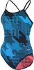 Dolfin Reversibles Stryker Turquoise/Coral String Back Female