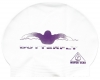 Water Gear Butterfly Latex Swim Cap