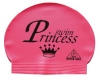 Water Gear Swim Princess Latex Swim Cap